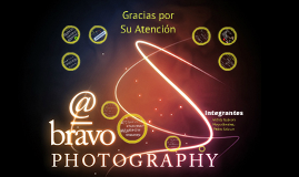 Plan de Negocio @_Bravo Photography