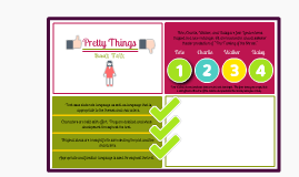 Pretty Things - Book Talk