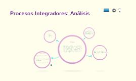 Copy of Copy of Procesos Integradores: Análisis