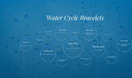 Water Cycle Bracelets
