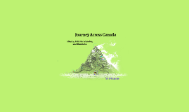 Journey Across Canada (Tourist Attractions)