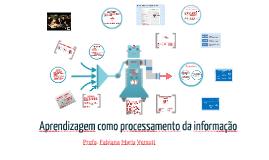 Aprendizagem como processamento da informação