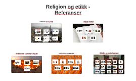 Religion og etikk - Referanser