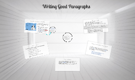Paragraphs: Claims & Support