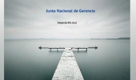 Junta de Gerencia Ago 2012