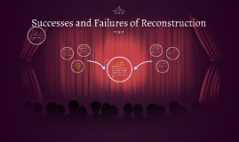 the successes and failures of reconstruction What were the achievements and failures of the reconstruction governments in the southern states.