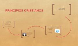 ALGUNOS PRINCIPIOS CRISTIANOS EN LA SOCIEDAD