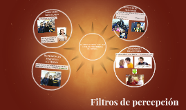FILTROS A TRAVÉS DE LOS CUALES PERCIBIMOS EL MUNDO