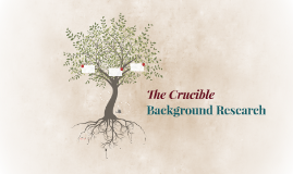 The Crucible Background Research