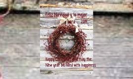 Feliz Navidad y lo mejor para 2014