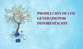 CO2 GENERADO POR DEFORESTACIÓN