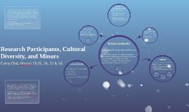 L24: Research Participants, Cultural Diversity, and Minors