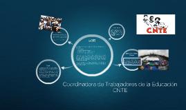 Copy of Cordinadora de Trabajadores de la Educación CNTE