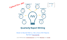 Above & Beyond Metrics: Tell a Story With Reports