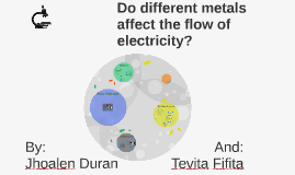 Do different metals affect the flow of electricity