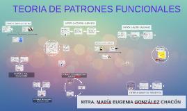 TEORIA DE PATRONES FUNCIONALES DE MARGORY GORDON APLICANDO N