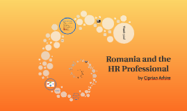 Romania and the HR Professional