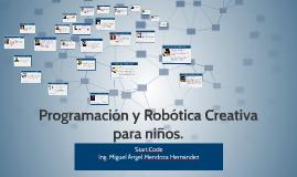 Copy of Programación y Robótica Pedagógica para niños