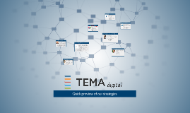 TEMA digital Strategies Presentation