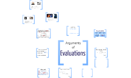Arguments of Evaluations