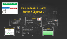 Trade and Cash discounts