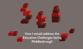 How I would address the Education Challenges facing Middlesb