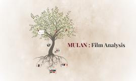 MULAN : Film Analysis