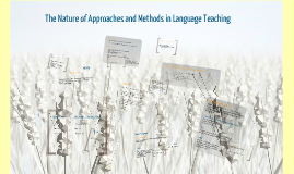 the nature of approach and methods in language teaching