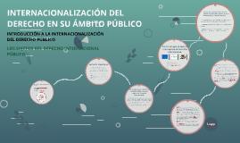 Copy of INTERNACIONALIZACIÓN DEL DERECHO EN SU ÁMBITO PÚBLICO