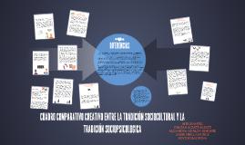 CUADRO COMPARATIVO CREATIVO ENTRE LA TRADICION SOCIOCULTURAL