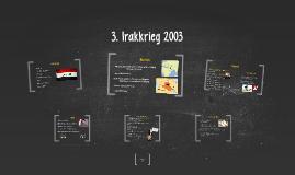 3. Irakkrieg 2003