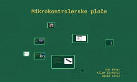 Mikrokontrolerske ploče