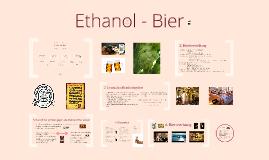 Ethanol - Bier