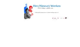Het Nieuwe Werken voor Ambtenaar 2013