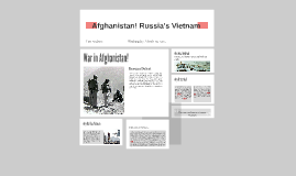 Copy of Afghanistan! Russia's Vietnam