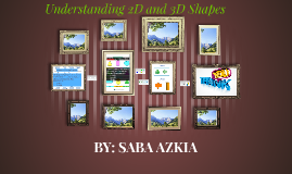 Understanding 2d and 3d shapes
