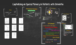 Capitalizing on Spared Memory in Patients with Dementia
