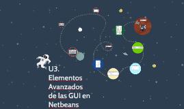 Elementos Avanzados de las GUI en Netbeans