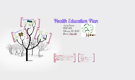 Copy of Health Education Plan
