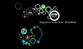 Hispanics in the Arts:  Broadway