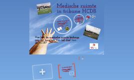 Medische ruimte in tribune HCDB