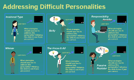 Addressing Difficult Personalities