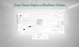 From Dance Steps to a Rhythmic Culture