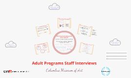 Adult Programs - Columbus Museum of Art