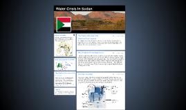Copy of Water Crisis In Sudan