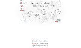 Title IX Training Graduate Students