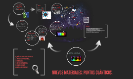 Copy of NUEVOS MATERIALES: PUNTOS CUÁNTICOS.