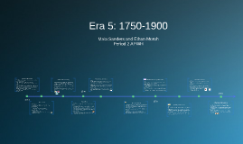 1750-1900 Timeline