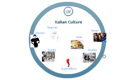 Copy of Copy of Italian Culture