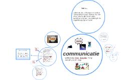 Copy of communicatie